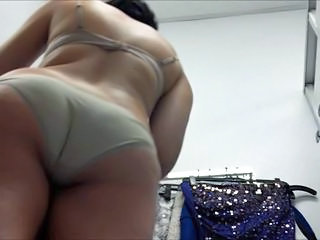 Ass HiddenCam Voyeur Teen Ass Lingerie