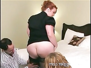 Ass Family Stockings Threesome Daughter Ass Daughter Stockings Family Mother