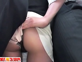 Ass Bus  Public Milf Ass Public Bus + Public