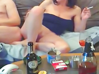 Amateur Drunk Smoking Threesome Threesome Amateur Amateur