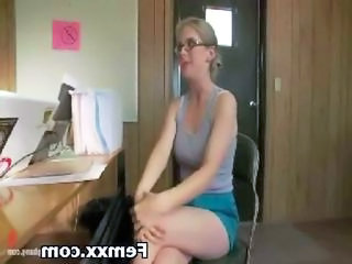 Forced Glasses Office Teen Teen Ass Glasses Teen Office Teen Forced