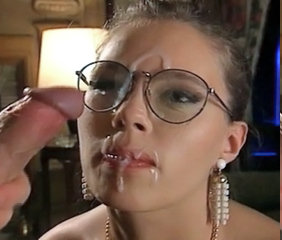 Cumshot Facial Glasses  Cumshot Ass Milf Ass Milf Facial