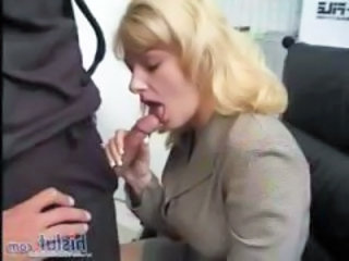 Blonde Blowjob Clothed Office Secretary Blowjob Babe Dress Clothed Fuck Office Babe