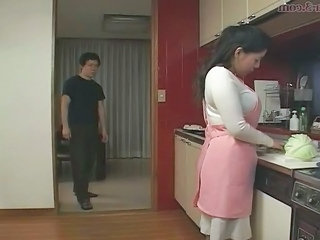 Asian Japanese Kitchen Mom Mother