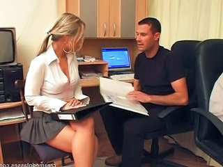 Office Pornstar Secretary Teen Dress Office Teen
