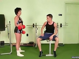Granny Sport Uniform Gym