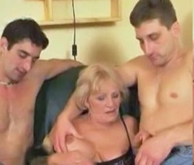 Granny Handjob Old and Young Threesome Old And Young Granny Young