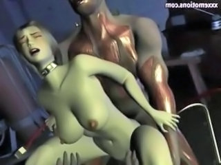 3D Bus Busty Babe Drilled