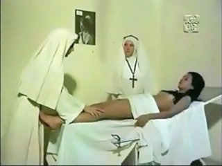 Nun Threesome Uniform Gyno