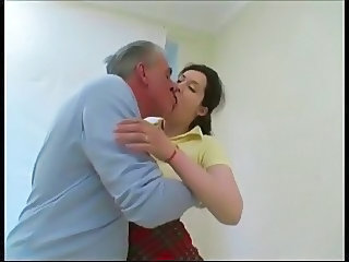 Daddy Kissing Old and Young Daddy Old And Young