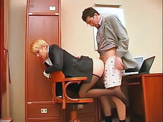 Clothed Doggystyle Office Pantyhose Secretary Footjob Foot Pantyhose