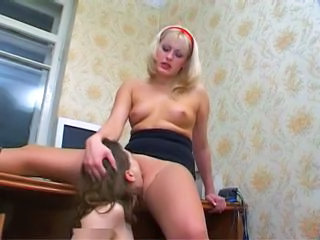 Amateur Licking  Pantyhose Russian Pussy Licking Amateur