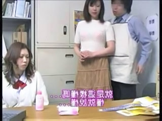 Asian Family Japanese Threesome Caught