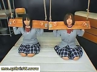 Bondage Punish Schoolgirl