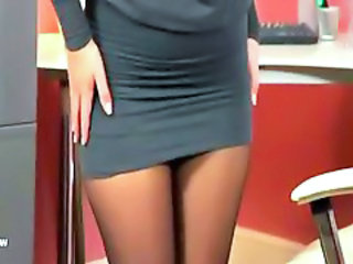 Office Secretary Stockings Office Babe Stockings