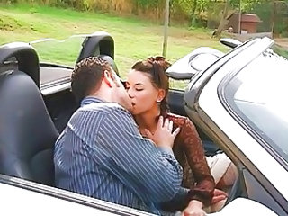 Car Kissing  Outdoor Outdoor Caught