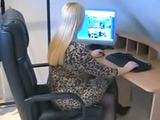 Amateur Office Secretary Pantyhose Amateur