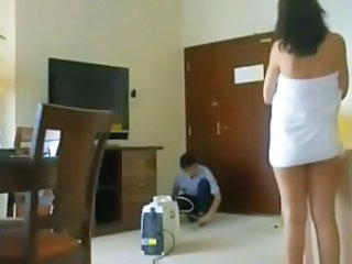 HiddenCam Voyeur Milf Ass Hotel