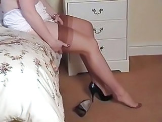 Legs Stockings British Milf Milf British European British
