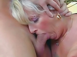Blonde Deepthroat Granny Granny Blonde