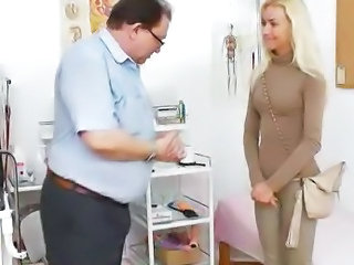 Amazing Doctor Small Tits Toy Pump
