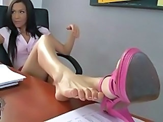 Feet Fetish Legs Footjob Foot Classroom