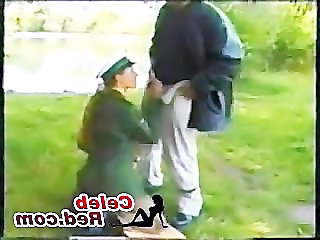 Blowjob European German Hardcore Outdoor Public Uniform Outdoor German Public German Blowjob Older Man European German Police Public