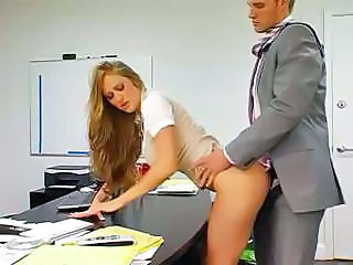 Babe Bus Clothed Doggystyle Office Secretary Clothed Fuck Busty Babe Office Babe Doggy Busty Boss Office Busty