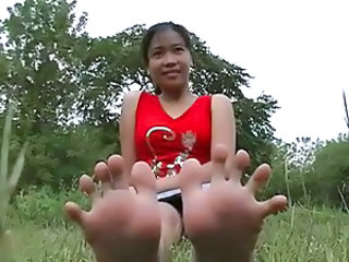 Feet Fetish Outdoor Outdoor TOE
