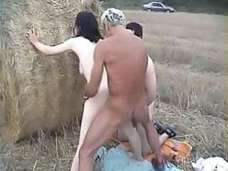 Amateur Farm Hardcore Interracial Outdoor Threesome Outdoor Farm Threesome Hardcore