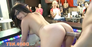 Babe   Doggystyle Glasses Party Ass Big Cock Whip Cfnm Party Babe Ass Doggy Ass