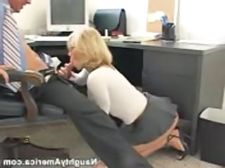 Blonde Blowjob Clothed  Office Secretary Blowjob Milf Milf Blowjob Milf Office Office Milf