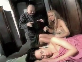 Daddy Daughter Family Old and Young Sleeping Threesome Young Cute Teen Old And Young Sleeping Teen Teen Cute