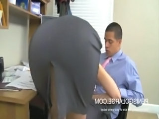Ass Blowjob Office Secretary