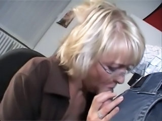 Blowjob European Glasses Mature Office Secretary Mature Ass Blowjob Mature Glasses Mature Mature Blowjob European