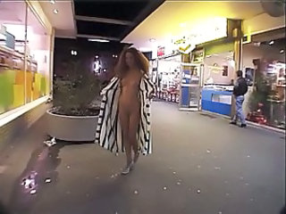 Nudist Public Flexible Teen Exhibitionist