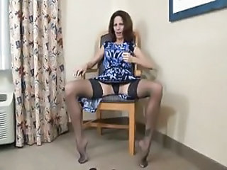 Stockings Foot Stockings Crazy Milf Stockings