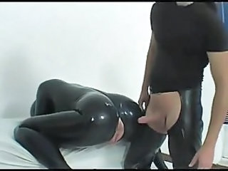 Clothed Fetish Latex Clothed Fuck Rubber