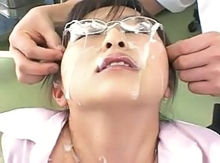 Bukkake Cumshot Facial Glasses Cumshot Ass