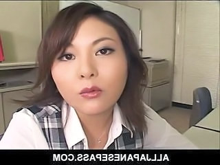 Amazing Asian Japanese  Office Secretary Boss