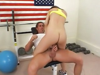 Ass Riding Sport Teen Gym
