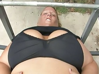 Big Tits Mature Outdoor Sport