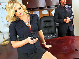 Amazing  Office Pornstar Secretary Boss