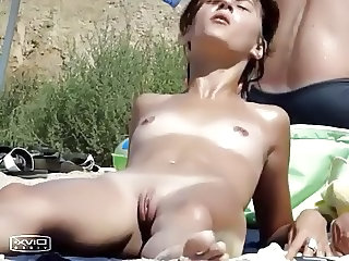 Nudist Outdoor Public Pussy Shaved Small Tits Teen Voyeur
