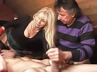 Bisexual French MMF Amateur
