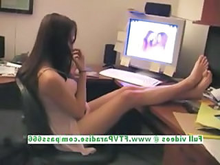Legs Solo Teen Flashing