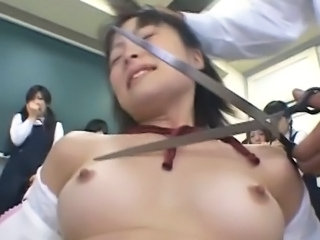 Asian Forced Student Teen Classroom