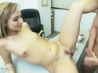 Fetish Office Skinny Small Tits Teen