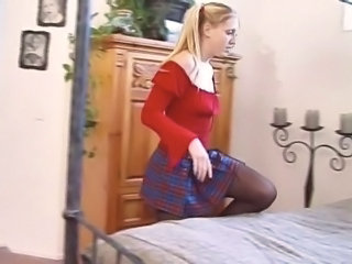 European School Teen Schoolgirl