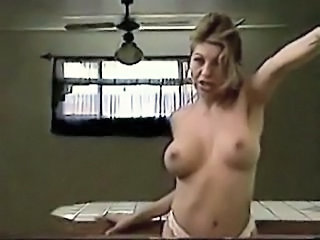Big Tits European Solo Stripper